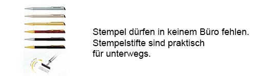Stempel & Stempelstifte