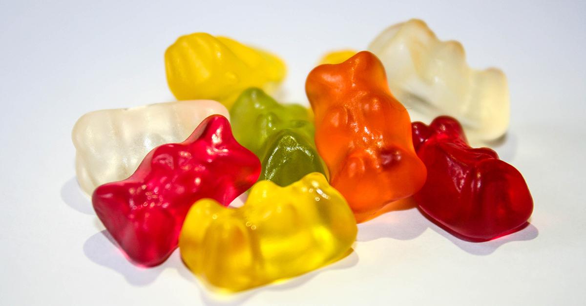 Süßigkeiten - süße Werbung