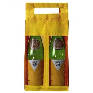 Flaschentasche fuer 2 Weinflaschen