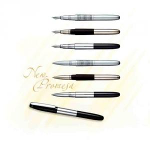 Klassische edle Kugelschreiber mit Stempel
