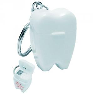 Zahn als Schlüsselanhänger