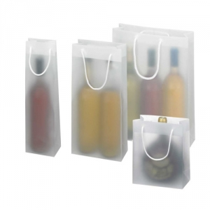 Flaschentasche transparent fuer Flaschen bis zu 1,5 l