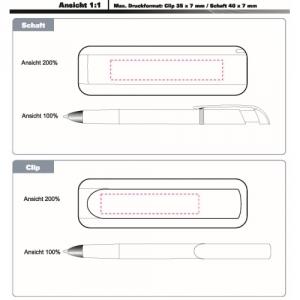 Druckkugelschreiber im eleganten Design