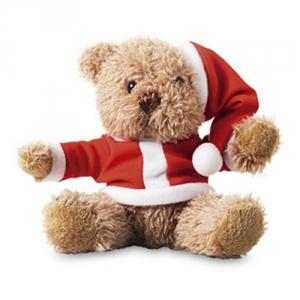 Nikolausplueschbaer als Weihnachtspraesent