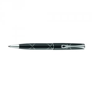 Diplomat Optimist Kugelschreiber mit geläsertem Dekor
