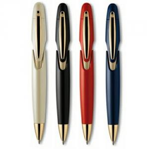 Designkugelschreiber mit Gold