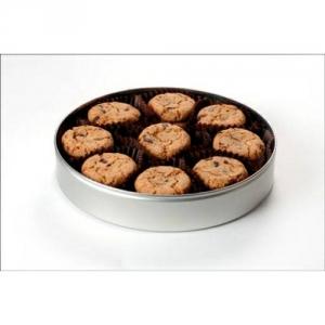 leckere Kekse in der Dose mit Ihrem Logo