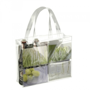 Stabile transparente Messetasche