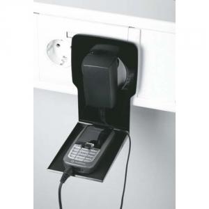 Handyhalter beim Aufladen