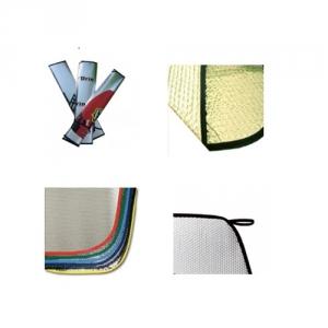 Windschutzscheibe - Sonnenschutz und Schneeschutz