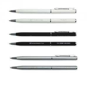 Mini Metal Kugelschreiber mit Gummierung