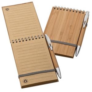Notizblock Bambus