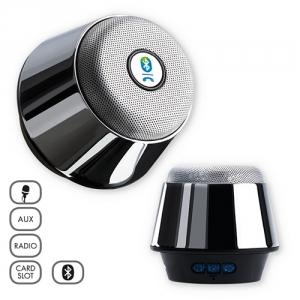 Bluetooth-Speaker verchromt