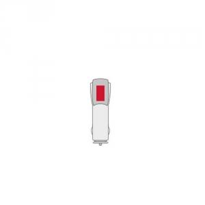 Kfz-Ladegerät mit 2 USB-Ports