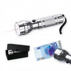 LED-Taschenlampe mit Laser und UV