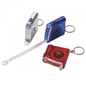 Schlüsselanhänger mit Maßband frozen