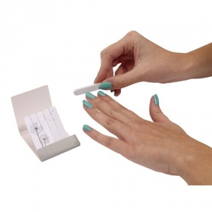Mini-Nagelfeilen im Papier-Einleger