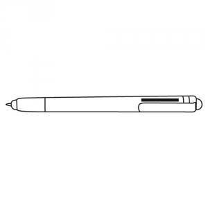 Kugelschreiber Bamboo mit Touch-Screen-Spitze