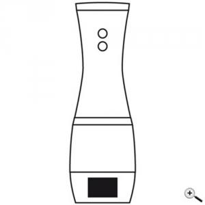 Elektrische Salz-Pfeffer-Mühle mit Keramikmahlwerk