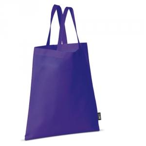 Farbige Tasche mit kurzen Henkeln