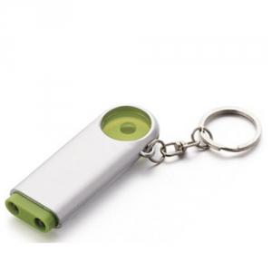 Schlüsselanhänger mit LED und Einkaufswagenchip