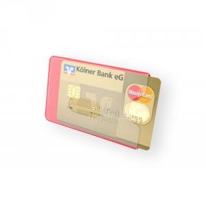 Recycelbare Schutzhülle für Bank- oder Kreditkarten