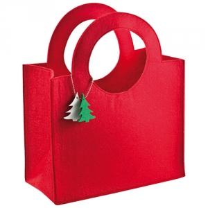 Weihnachtliche Tasche