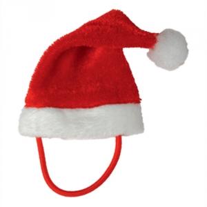 Weihnachtsmütze für Stofftiere