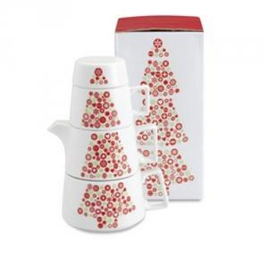 Weihnachtliches Teeset