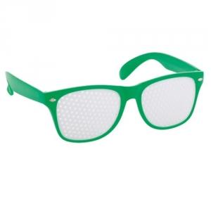 Brille mit klarer Sicht auf Ihre Werbung