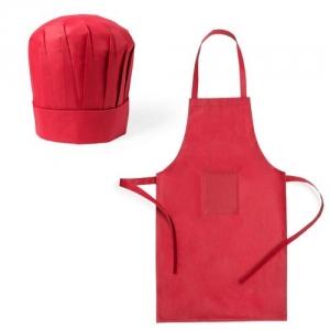 Schürze und Kochmütze für Kinder