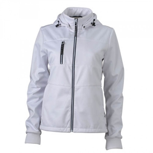 Moderne Softshell Jacke