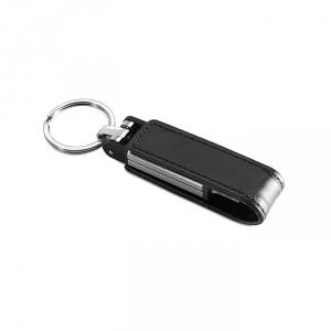 USB-Stick Leder - inkl. 3-farbigem Druck