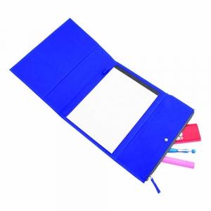 Schreibmappe aus Microfaser