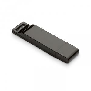 Flacher USB-Stick mit Klavierlack Oberfläche - inkl. 3-farbigem Druck