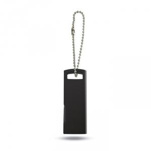 Ultra Flacher USB Stick mit Kette - inkl. 3-farbigem Druck