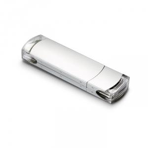 USB Stick in Metallgehäuse - inkl. 3-farbigem Druck