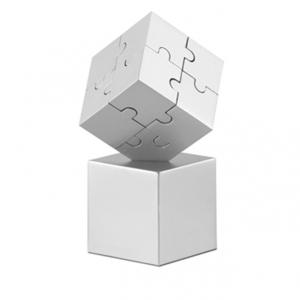 Puzzle-Briefbeschwerer