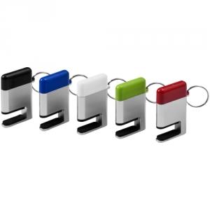 Schlüsselanhänger mit Smartphone-Helfer