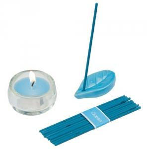 Räucherstäbchen mit Duftteelichter
