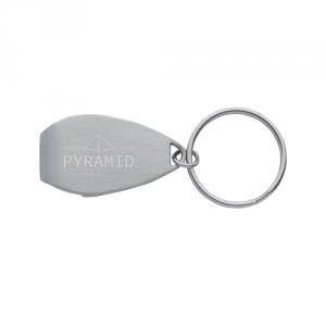 Flaschenöffner Schlüsselanhänger aus Stahl