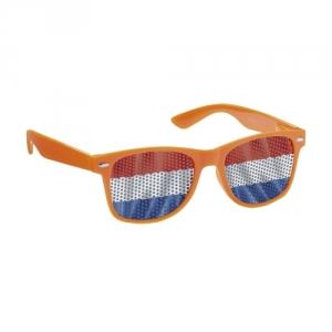 Auffallende Werbebrille