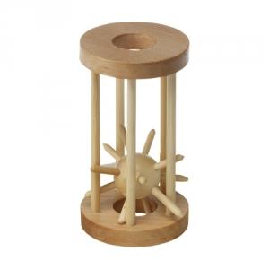 Holzpuzzle Käfig
