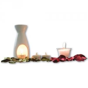 Duftset mit Kerzen, Duftölen und mehr