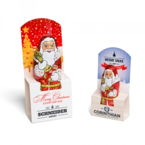 Kleiner Nikolaus aus Lindt-Schokolade