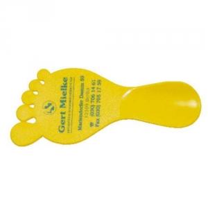 Handlicher Schuhlöffel Fuß
