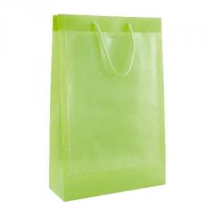 Transparente Tragetasche mit Fenster - Messetasche