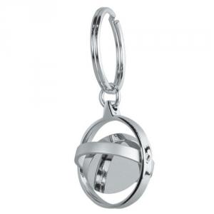 Runder Metall Schlüsselanhänger
