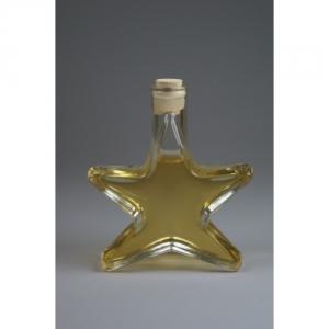 Flasche in Formes eines Sternes