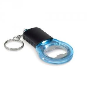Schlüsselanhänger Flaschenöffner mit LED